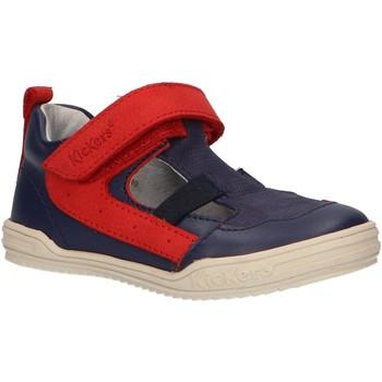 Sapatos Rapaz Sandálias Kickers 545222-10 JASON Azul