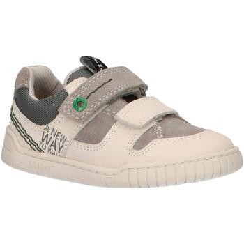 Sapatos Criança Sapatilhas Kickers 694150-10 WAHOU Blanco
