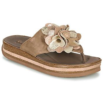 Sapatos Mulher Chinelos Think ZEGA Bege