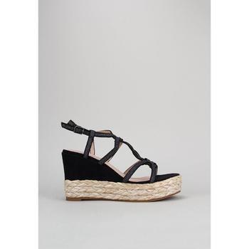 Sapatos Mulher Sandálias D'angela  Preto