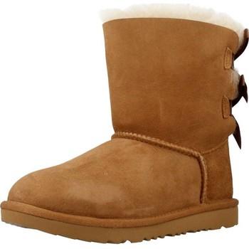 Sapatos Rapariga Botas UGG BAILEY BOW II Marron