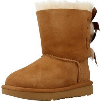 Sapatos Rapariga Botas de neve UGG BAILEY BOW II Marron