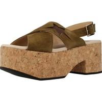 Sapatos Mulher Sandálias Clover 7129C Verde