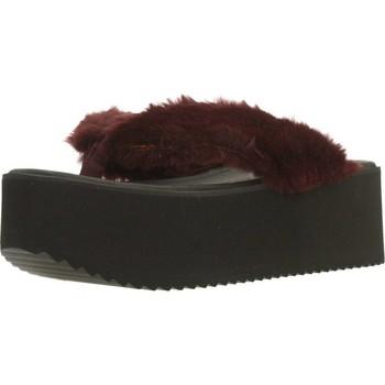Sapatos Mulher Chinelos Clover 89828 Vermelho