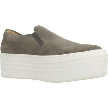 Sapatos Mulher Slip on Clover 89844 Cinza