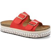 Sapatos Mulher Chinelos Festissimo YT5546 Rojo