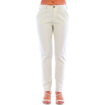 Textil Mulher Chinos 40weft BRIANA creme