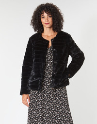 Textil Mulher Casacos Lauren Ralph Lauren FAUX CHUBBY Preto
