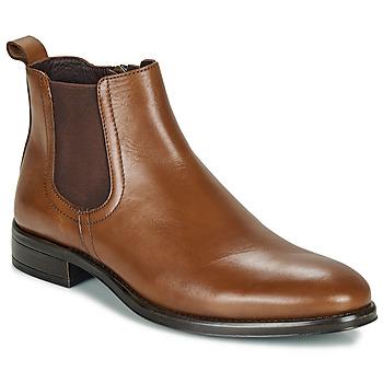 Sapatos Homem Botas baixas André NORLAND Conhaque