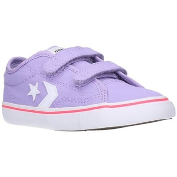 Sapatos Rapaz Sapatilhas Converse 764442C Niño Morado violet