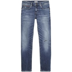 Textil Homem Calças de ganga slim Tommy Jeans DM0DM06376911 azul