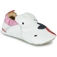 Sapatos Rapariga Chinelos Catimini CIRINI Branco / Rosa