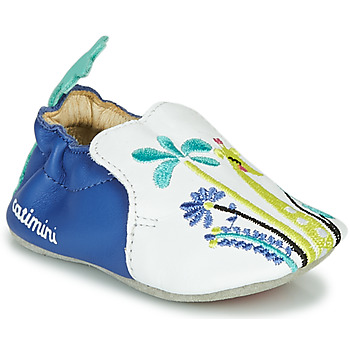 Sapatos Rapariga Chinelos Catimini COLIMA Branco / Azul