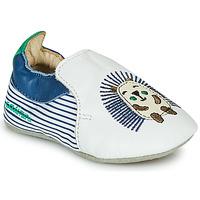 Sapatos Rapaz Chinelos Catimini COFFI Branco / Azul / Verde