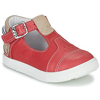 Sapatos Rapaz Sapatilhas de cano-alto GBB ATALE Vermelho