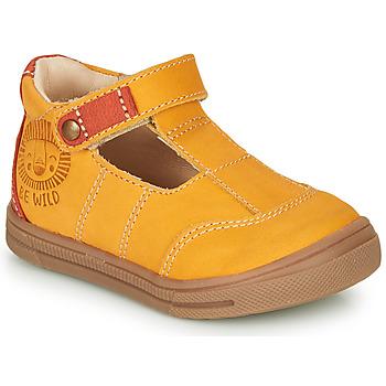 Sapatos Rapaz Sandálias GBB ARENI Amarelo