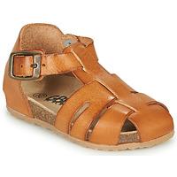 Sapatos Rapaz Sandálias GBB FREDERICO Conhaque