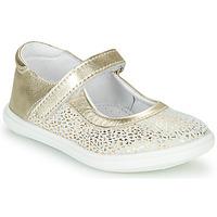 Sapatos Rapariga Sabrinas GBB PLACIDA Branco / Ouro