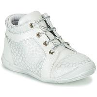 Sapatos Rapariga Sapatilhas de cano-alto GBB OMANE Cinza / Branco