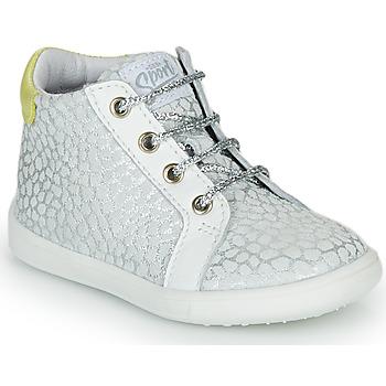 Sapatos Rapariga Sapatilhas de cano-alto GBB FAMIA Prata