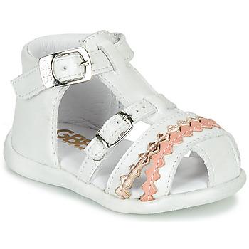 Sapatos Rapariga Sandálias GBB ALIDA Branco