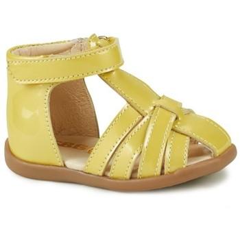 Sapatos Rapariga Sandálias GBB AGRIPINE Amarelo