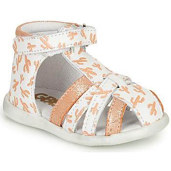 Sapatos Rapariga Sandálias GBB AGRIPINE Laranja