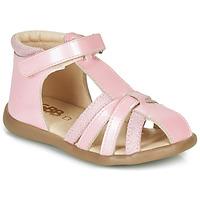 Sapatos Rapariga Sandálias GBB AGRIPINE Rosa