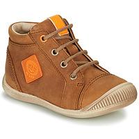 Sapatos Rapaz Sapatilhas de cano-alto GBB TARAVI Castanho