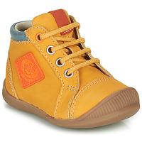 Sapatos Rapaz Sapatilhas de cano-alto GBB TARAVI Amarelo