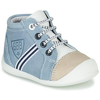 Sapatos Rapaz Sapatilhas de cano-alto GBB GABRI Azul