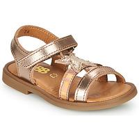 Sapatos Rapariga Sandálias GBB OLGA Rosa / Ouro
