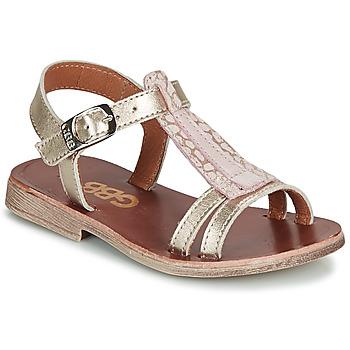 Sapatos Rapariga Sandálias GBB LAZARO Ouro