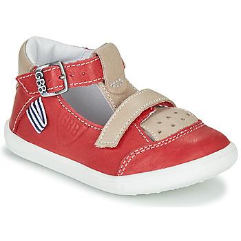 Sapatos Rapaz Sandálias GBB BERETO Vermelho