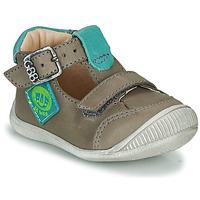 Sapatos Rapaz Sandálias GBB BOLINA Cinza
