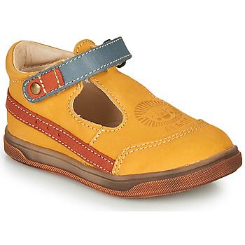 Sapatos Rapaz Sandálias GBB ANGOR Amarelo