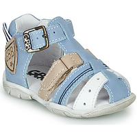 Sapatos Rapaz Sandálias GBB BYZANTE Azul / Cinza