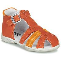 Sapatos Rapaz Sandálias GBB ARIGO Laranja