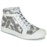 Sapatos Rapariga Sapatilhas de cano-alto GBB NAVETTE Preto / Branco