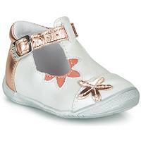 Sapatos Rapariga Sabrinas GBB ANAXI Branco / Rosa / Ouro