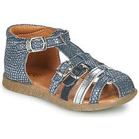 Sapatos Rapariga Sandálias GBB PERLE Azul