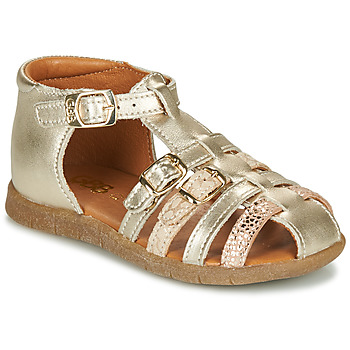 Sapatos Rapariga Sandálias GBB PERLE Ouro