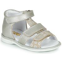 Sapatos Rapariga Sandálias GBB NAVIZA Bege