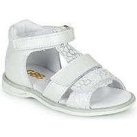 Sapatos Rapariga Sandálias GBB NAVIZA Branco
