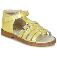 Sapatos Rapariga Sandálias GBB ANTIGA Amarelo
