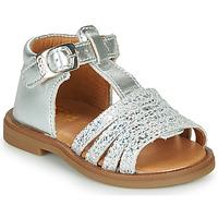 Sapatos Rapariga Sandálias GBB ATECA Prata