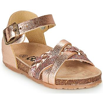 Sapatos Rapariga Sandálias GBB ALECTA Rosa / Ouro