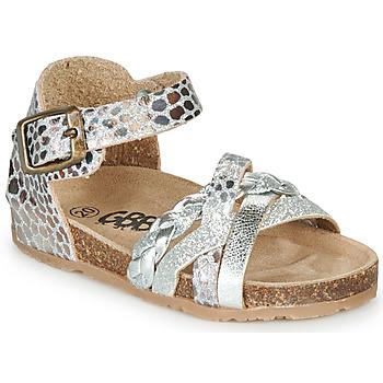 Sapatos Rapariga Sandálias GBB ALECTA Prata