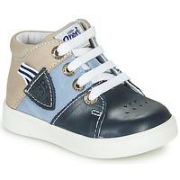 Sapatos Rapaz Sapatilhas de cano-alto GBB AMOS Azul
