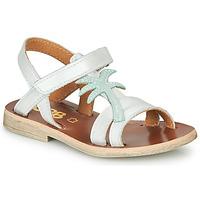 Sapatos Rapariga Sandálias GBB SAPELA Branco